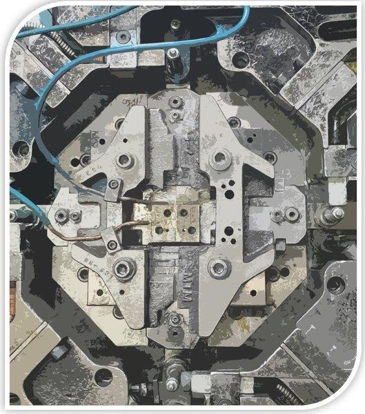 Construção de moldes zamac