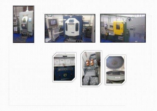 Fabricação de moldes zamac